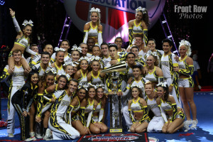 Top Gun Large Coed - L5 Senior Large Coed national champions